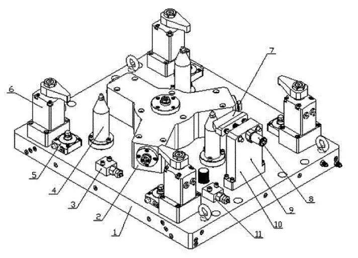 如何改进液压夹具结构  第2张