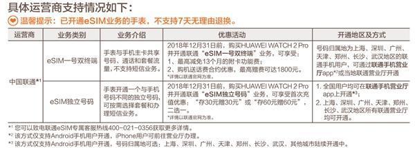 HUAWEI WATCH 2 2018版正式开售:支持eSIM一号双终端的照片 - 2
