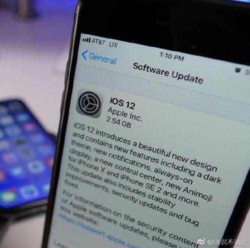 iOS 12更新界面曝光 iPhone SE 2后壳照再次放出的照片 - 1