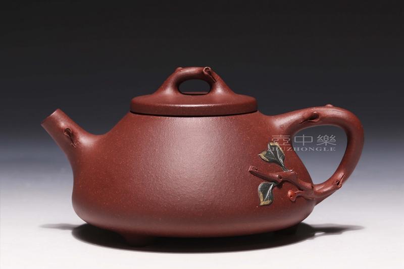 宜兴紫砂壶-许良平紫砂壶-树瓢