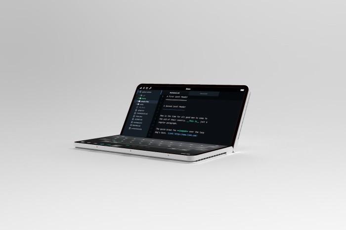 设计师打造微软折叠概念机Surface Phone的照片 - 11