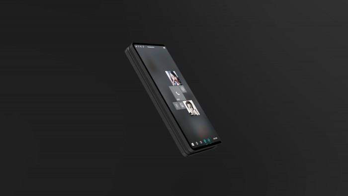 设计师打造微软折叠概念机Surface Phone的照片 - 3
