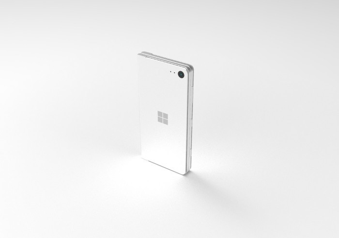 设计师打造微软折叠概念机Surface Phone的照片 - 2