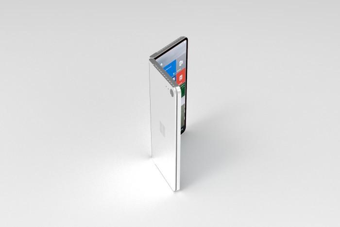设计师打造微软折叠概念机Surface Phone的照片 - 7