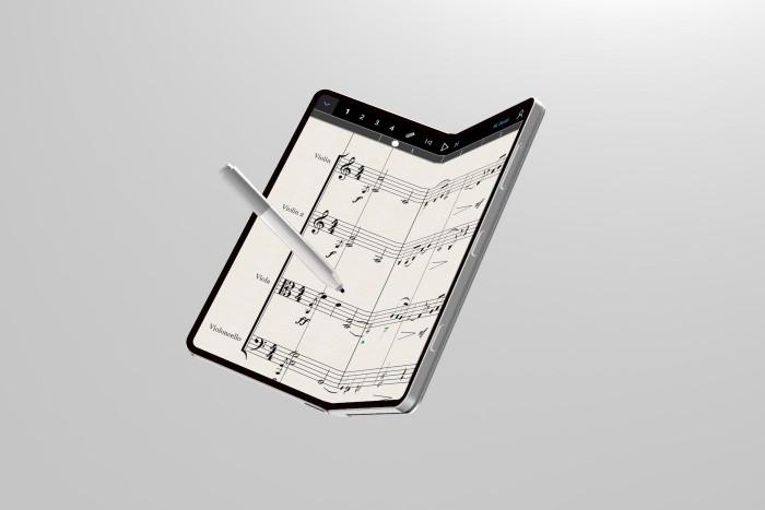 设计师打造微软折叠概念机Surface Phone的照片 - 6