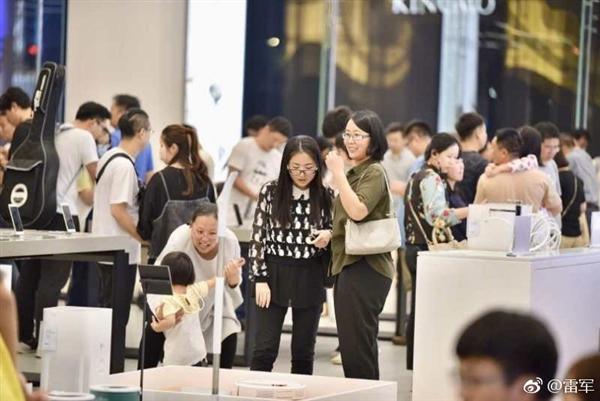 雷军晒中国最大小米之家旗舰店:6月16日正式开业的照片 - 4