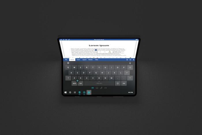 设计师打造微软折叠概念机Surface Phone的照片 - 13