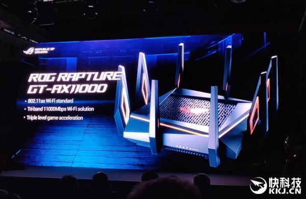 华硕发布世界最快万兆无线路由器GT-AX11000的照片