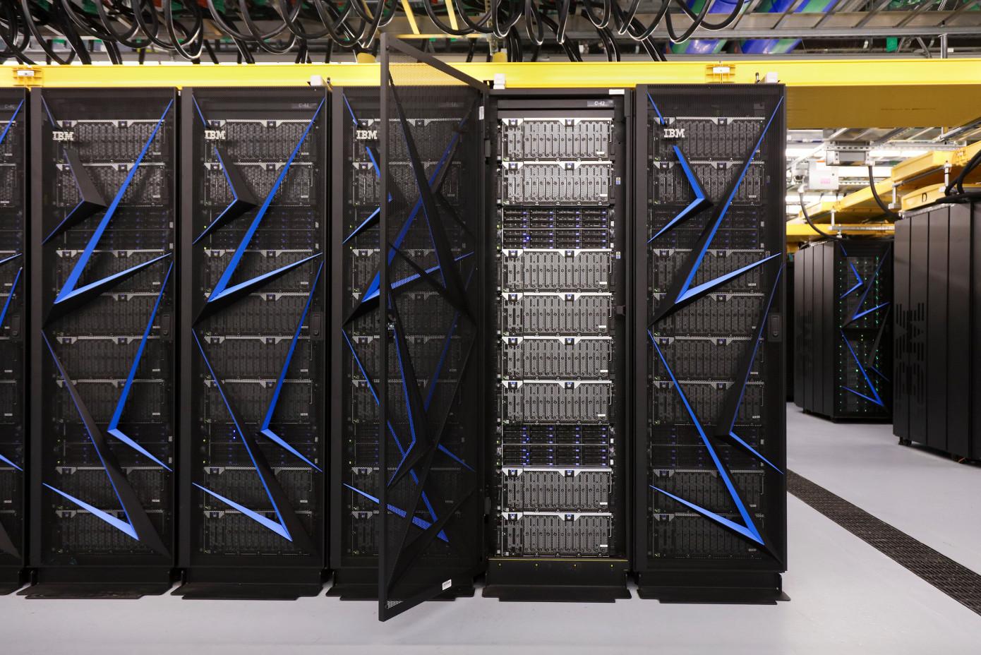 美公布全球最快超级计算机 性能是神威太湖之光近2倍的照片 - 3