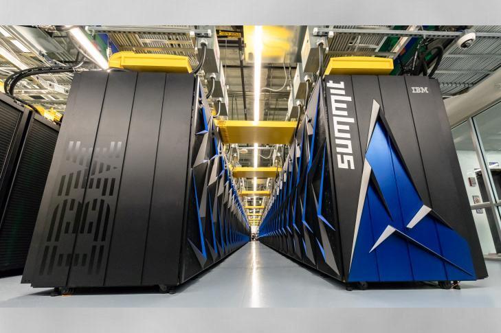 美公布全球最快超级计算机 性能是神威太湖之光近2倍的照片 - 1