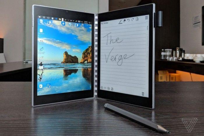英特尔概念笔记本Tiger Rapids上手:E-INK屏替代键盘的照片 - 8