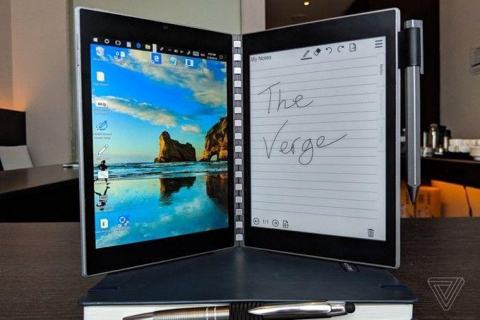 英特尔概念笔记本Tiger Rapids上手:E-INK屏替代键盘的照片 - 12