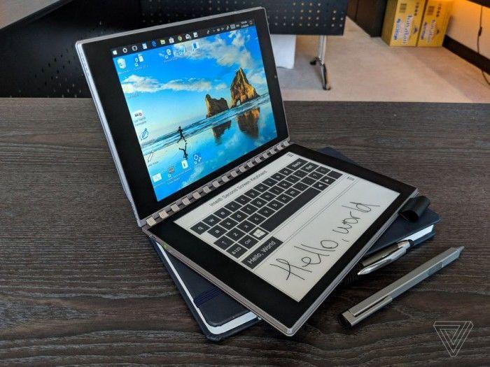 英特尔概念笔记本Tiger Rapids上手:E-INK屏替代键盘的照片 - 17