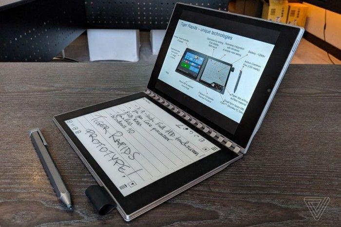 英特尔概念笔记本Tiger Rapids上手:E-INK屏替代键盘的照片 - 1