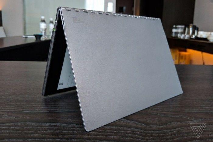 英特尔概念笔记本Tiger Rapids上手:E-INK屏替代键盘的照片 - 9