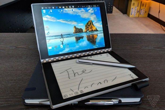 英特尔概念笔记本Tiger Rapids上手:E-INK屏替代键盘的照片 - 15