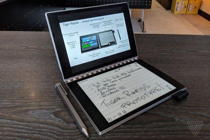 英特尔概念笔记本Tiger Rapids上手:E-INK屏替代键盘的照片 - 19