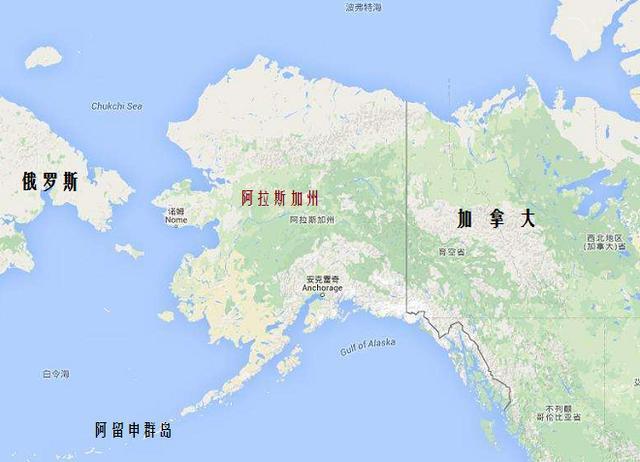 阿拉斯加面积人口_阿拉斯加人口分布图