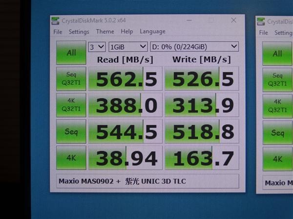 紫光TLC+联芸主控SSD测试:100%国产 性能不输原厂的照片 - 2