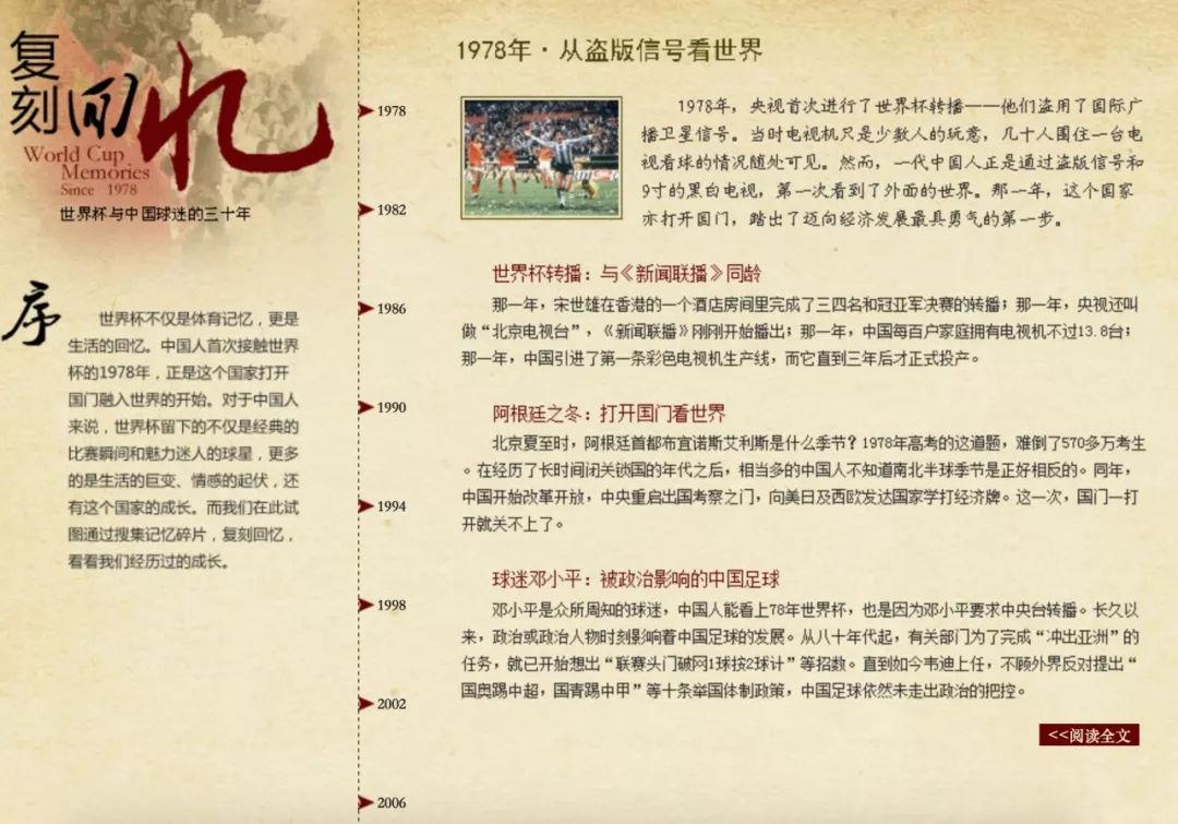十届世界杯,媒介四十年