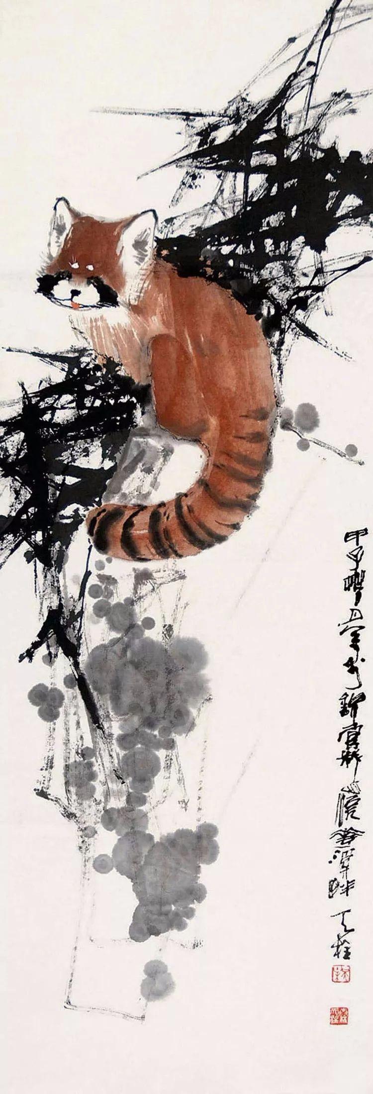 四川中国画家:秦天柱中国画作品欣赏(90副)