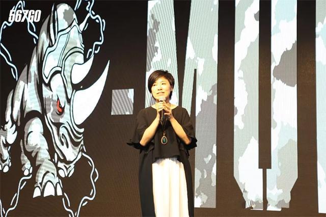 泥泞障碍赛COO殷欣欣女士