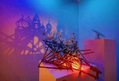 艺术家Rashad Alakbarov光影艺术中国首展 另类角度感受2018俄罗斯世界杯