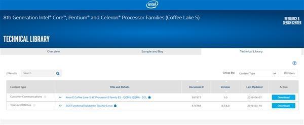Intel 8核Coffee Lake/Xeon E处理器双双现身的照片 - 2