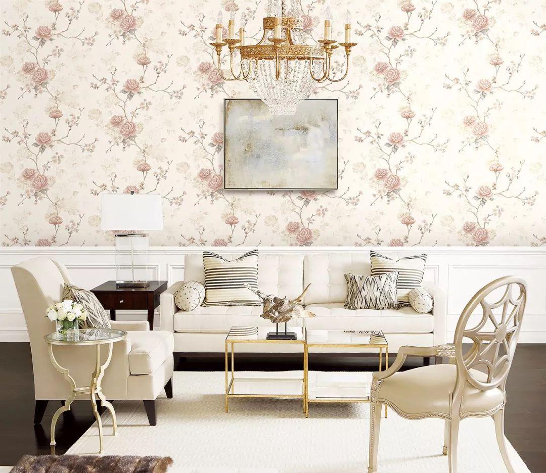 无纺壁纸的浪漫心机 大自然家居壁高软装 罗曼蒂 系列