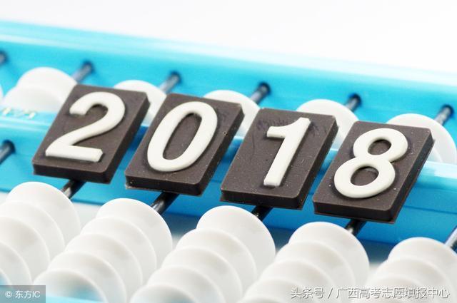 广西2018年普通高校招生录取日程表