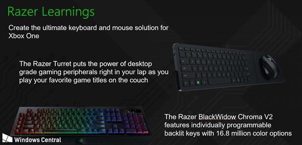 微软仍在优化Xbox配套键鼠支持:与雷蛇合作的照片 - 2