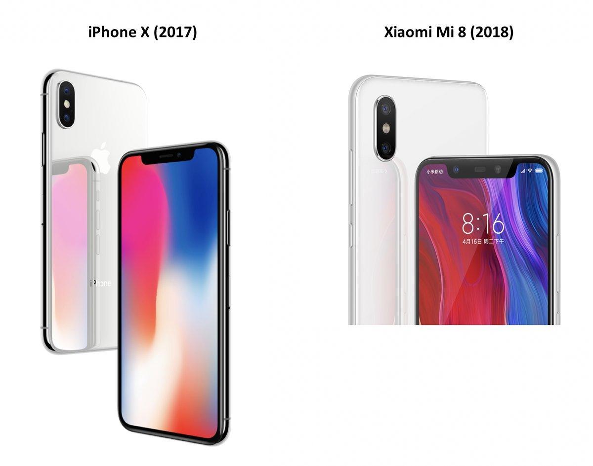 没人想要高仿iPhone X的小米8的照片 - 3