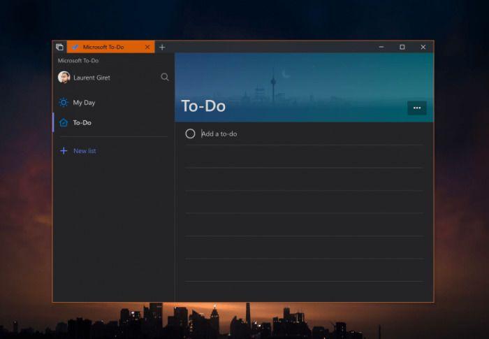 Win10应用To-Do即将迎来Dark主题的照片 - 2