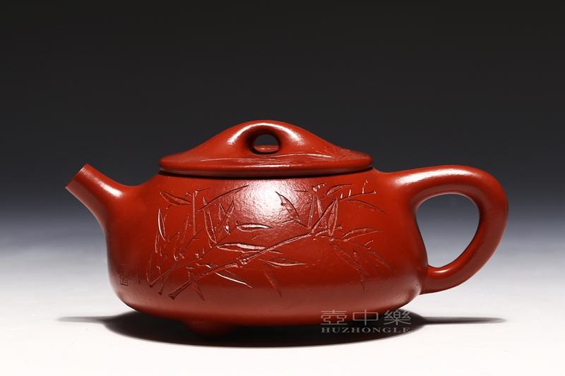 宜兴紫砂壶-陈亚萍紫砂壶-景舟石瓢-趣淘壶