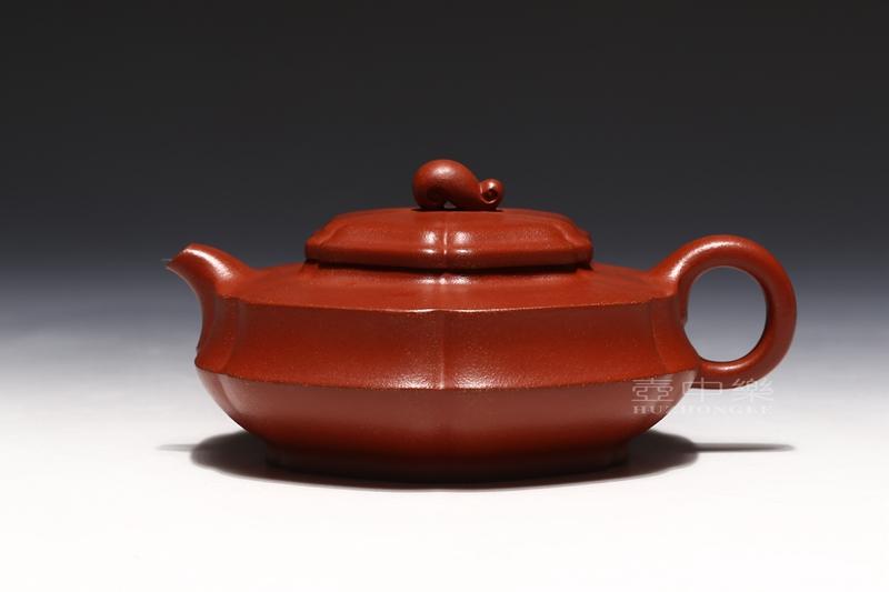 宜兴紫砂壶-陈亚萍紫砂壶-玉如意-趣淘壶
