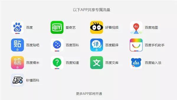 中国移动百度卡亮相:18元30G流量的照片 - 1
