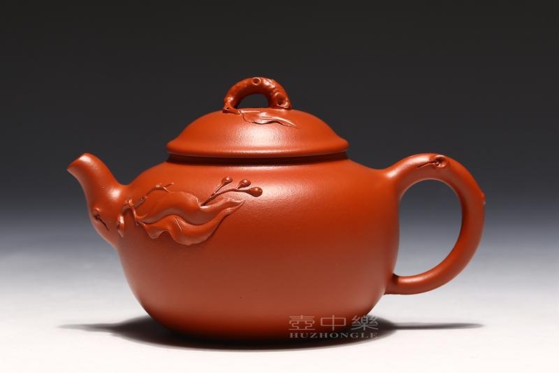 宜兴紫砂壶-郑求标紫砂壶-幽香-趣淘壶