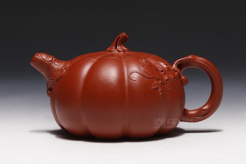 宜兴紫砂壶-南瓜壶-趣淘壶