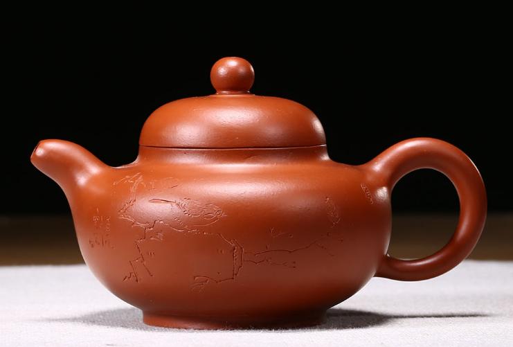 宜兴紫砂壶-华颖壶-趣淘壶
