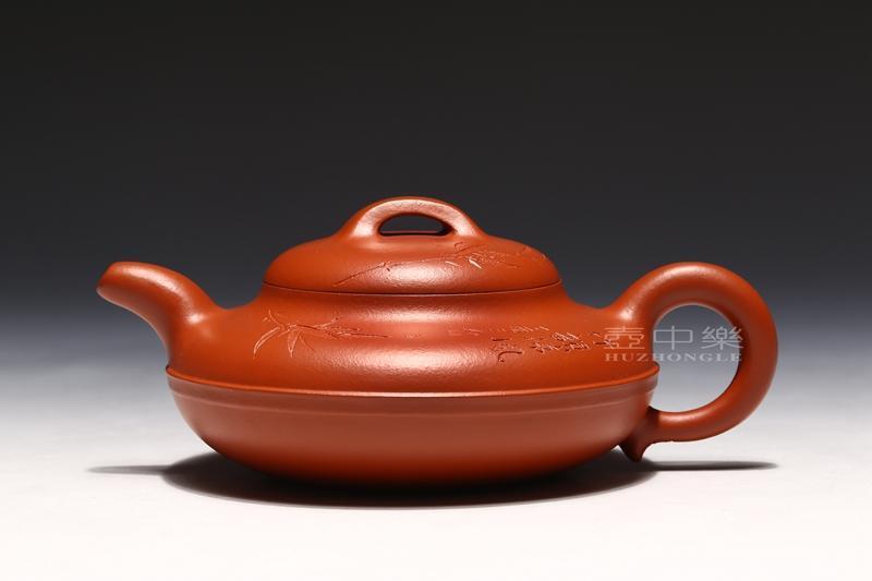 宜兴紫砂壶-线圆壶-趣淘壶