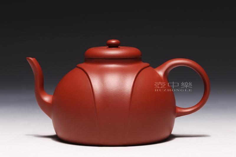 宜兴紫砂壶-龙带壶-趣淘壶