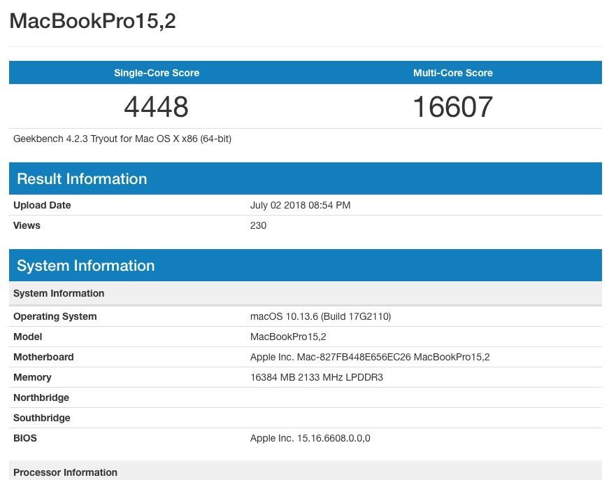 新MacBook Pro曝光 全球首发i7-8559U的照片 - 3