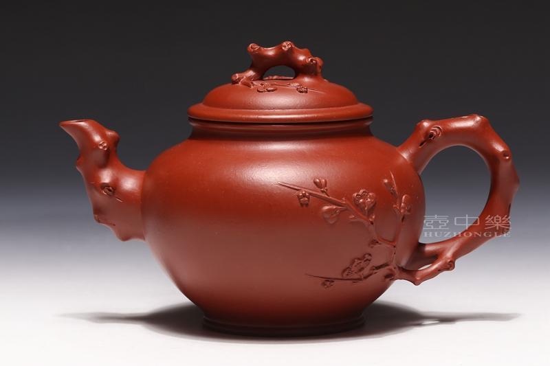 宜兴紫砂壶-报春壶-趣淘壶