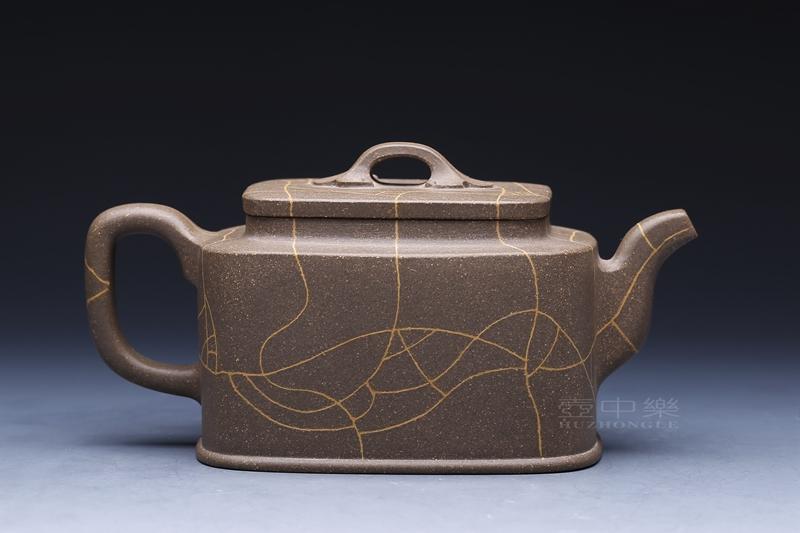 宜兴紫砂壶-四方壶-趣淘壶