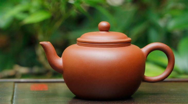 宜兴紫砂壶-汤婆壶-趣淘壶