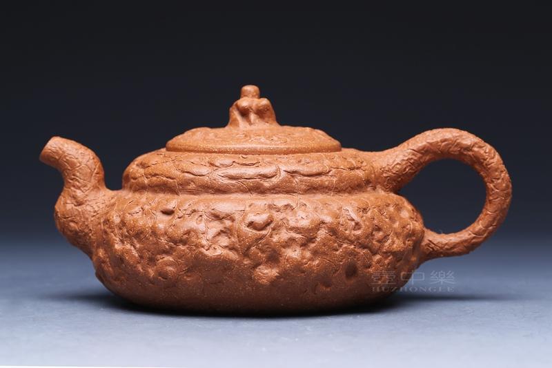宜兴紫砂壶-供(龚)春壶-趣淘壶