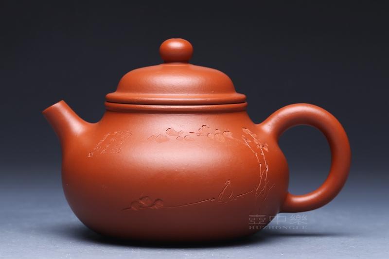 宜兴紫砂壶-容天壶-趣淘壶