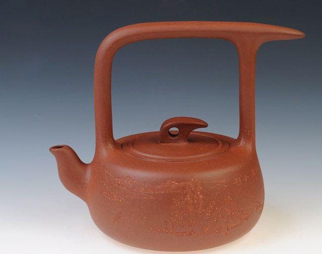宜兴紫砂壶-鹧鸪-趣淘壶