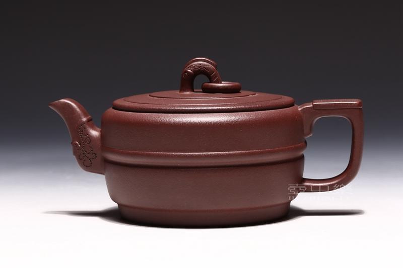 宜兴紫砂壶-集玉壶-趣淘壶