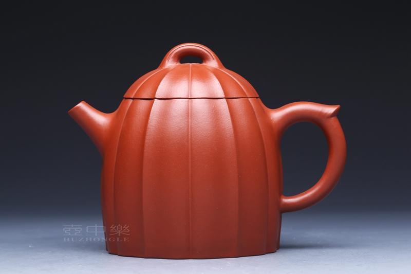 宜兴紫砂壶-筋纹壶-趣淘壶